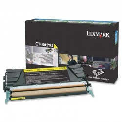 LEXMARK C746A1YG YELLOW TONER
