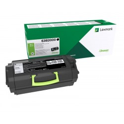 LEXMARK 63B2000 BLACK RETURN PROG. TONER