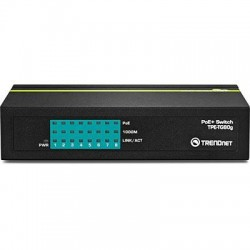 TD 8-PORT GB GREENNET POE+ SWITCH, TG80G