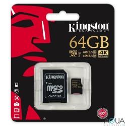 MICROSDXC 64GB CLASS U3 UHS-I 90R/45W