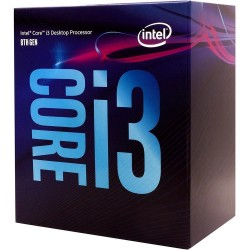 IN CPU CORE I3-8100, BX80684I38100