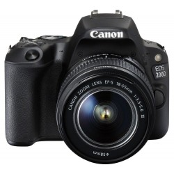 PHOTO CAMERA CANON 200D KIT EFS18-55DC