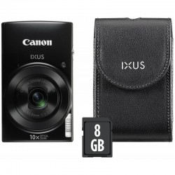 PHOTO CAMERA CANON IXUS 190 BLACK KIT