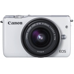 CAMERA FOTO EOS M100 KIT EF-M 15-45 WH