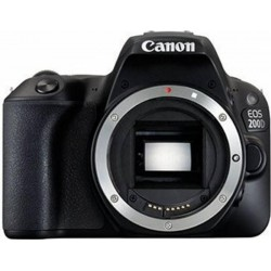 PHOTO CAMERA CANON 200D BODY BK