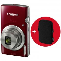 PHOTO CAMERA CANON IXUS 185 RED KIT