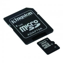 MICROSDHC 32GB CL4 ADAPTOR SD KS