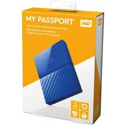 "EHDD 2TB WD 2.5"" MY PASSPORT BLUE"