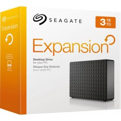 "EHDD 3TB SG EXPANSION USB 3.0 3.5"" BK"